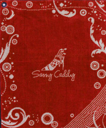 Sassy Caddy: Golf Towel - Red