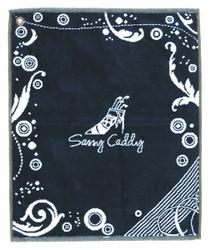 Sassy Caddy: Golf Towel - Navy