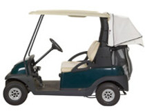 Club Pro: Club Car Precedent Golf Cart Accessory - Cabana Cover