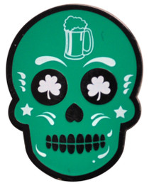 ReadyGolf: Irish To The Bone Sugar Skull Ball Marker