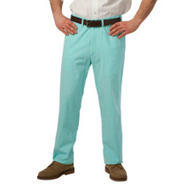 Castaway Clothing Men's Harbor Pants - Aqua (Size 34UF) - SALE
