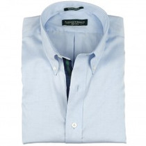 Fairway & Greene Men's Shirt - Blue Varsity (Medium) - SALE