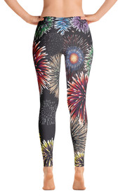 Fireworks Women's All-Over Leggings by ReadyGOLF