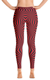 Widow Maker Women's All-Over Leggings by ReadyGOLF