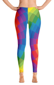 ReadyGOLF: Tie Dye Women's All-Over Leggings
