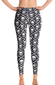 Pirate Flag Women's All-Over Leggings by ReadyGOLF