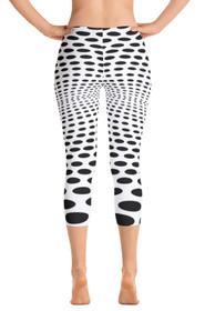 ReadyGOLF: Sea of Holes Women's Capri Leggings