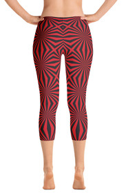 Widow Maker Women's Capri Leggings by ReadyGOLF