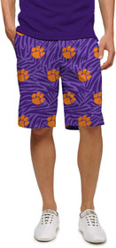 Loudmouth Golf: Men's Shorts - Clemson Paw Power™