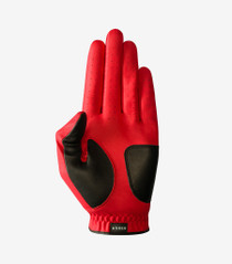 Asher Golf: Men's Chuck 2.0 Golf Glove - Red