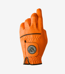 Asher Golf: Men's Chuck 2.0 Golf Glove - Orange
