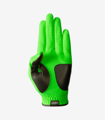 Asher Golf: Men's Chuck 2.0 Golf Glove - Lime Green