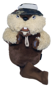 Groundskeeper Gopher Golf Headcover - Driver by ReadyGOLF