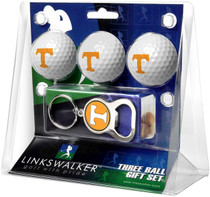 LinksWalker: Tennessee Volunteers Keychain Bottle Opener 3 Ball Gift Pack - SALE