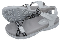 Sandbaggers: Women's Golf Sandals - Galia Gray