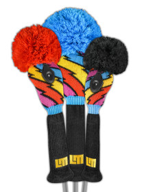 Just 4 Golf: Loudmouth Headcover Set - Captain Thunderbolt