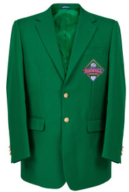 Trophy Club - Fantasy Baseball Championship Green Blazer Jacket