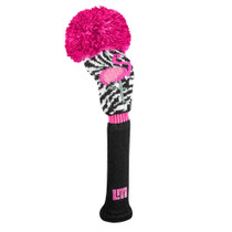 Just 4 Golf: Loudmouth Fairway Headcover - Savage Flamingos