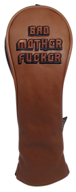 Bad Mother Fucker Embroidered Headcover by ReadyGOLF - Hybrid