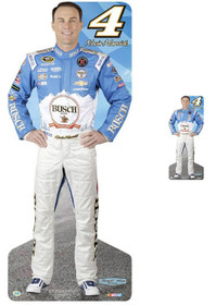 Team Image: Lifesize & Miniature Cardboard Cutout Combo - Kevin Harvick #4 Busch