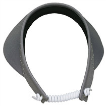 Glove It: Bling Coil Golf Visor - Grey
