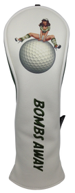 Bombs Away! Embroidered Pinup Hybrid Headcover by ReadyGOLF