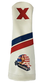 Sunfish: Headcovers - Bombs Away Pin Up Girl