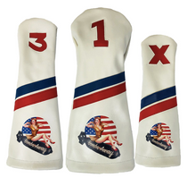 Sunfish: Headcover Set - Bombs Away Pin Up Girl