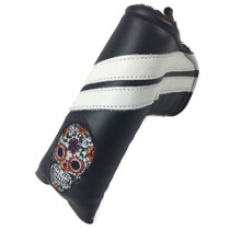 Sunfish: Leather Blade Putter Headcovers - Sugar Skull