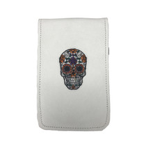 Sunfish: Scorecard and Yardage Book Holder - Sugar Skull