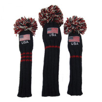 Sunfish: Hand-Knit Headcovers (Set of 3) - Old Glory
