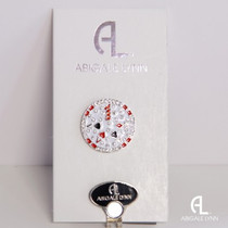 Abigale Lynn Ball Marker & Hat Clip - Poker Chip