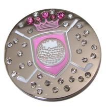 Abigale Lynn Ball Marker & Hat Clip - Shield