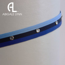 Abigale Lynn Visor Band - Royal Stripe