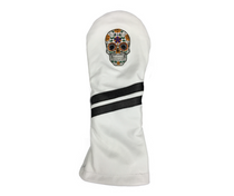Sunfish: Leather Headcovers - Sugar Skull