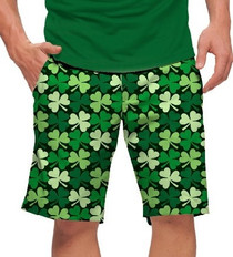 Loudmouth Golf: Men's StretchTech Shorts - Sham Totally Rocks