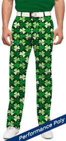 Loudmouth Golf: Mens StretchTech Pants - Sham Totally Rocks