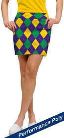 Loudmouth Golf Womens Skort - Carnivale StretchTech