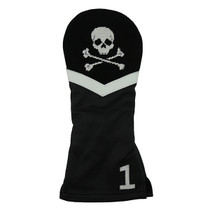 Smathers & Branson: Driver Headcover - Jolly Roger Needlepoint