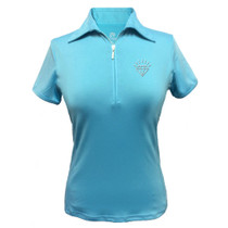 Titania Golf: Women's Golf Polo: Diamond