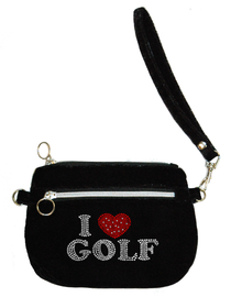 Titania Golf: Women's Velvet Clutch Purse