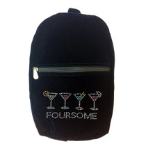 Titania Golf: Women's Rhinestone Shoe Bag - Foursome