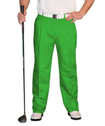 Golf Knickers: Men's 'Par 4' Cotton/Ramine Golf Trousers