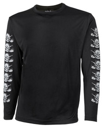 Tattoo Golf: Men's Long Sleeve Undershirt - Black