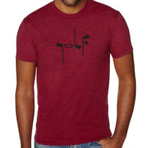 It Says Golf: Mens Premium T-Shirt - Cardinal