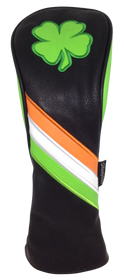 Irish Shamrock Embroidered Headcover Set by ReadyGOLF - Driver, Fairway, Hybrid