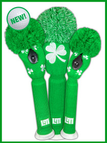 Just 4 Golf: Loudmouth Headcover Set - Shamrocks