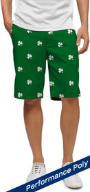Loudmouth Golf: Men's StretchTech Shorts - Shamrocks