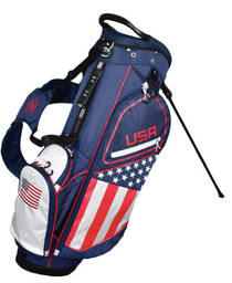Hot-Z Golf: Flag Stand Bag - USA **Estimated Ship Date – May 2021