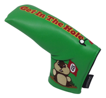 Dancing Gopher Green Embroidered Putter Cover by ReadyGolf - Blade